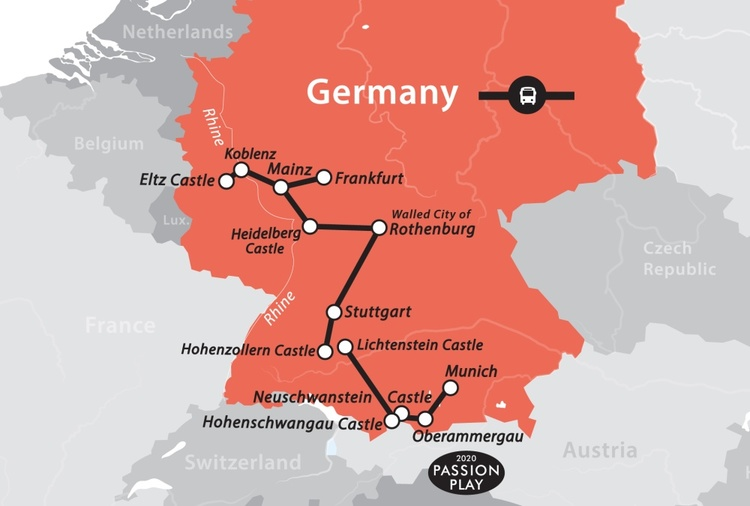 Федеративная республика германия достопримечательности