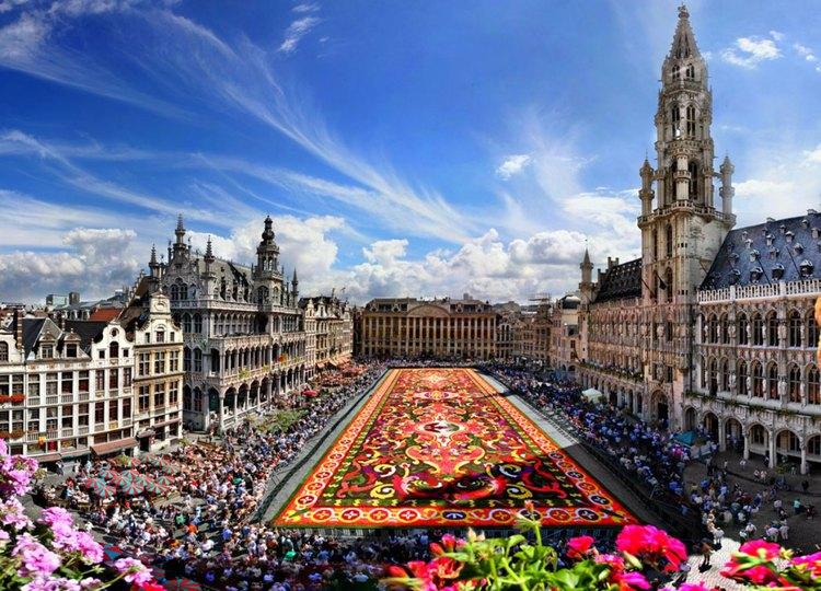 Брюссель фото города