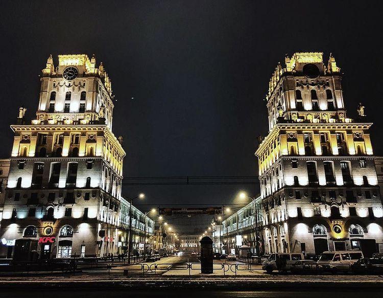 Минск достопримечательности фото с описанием