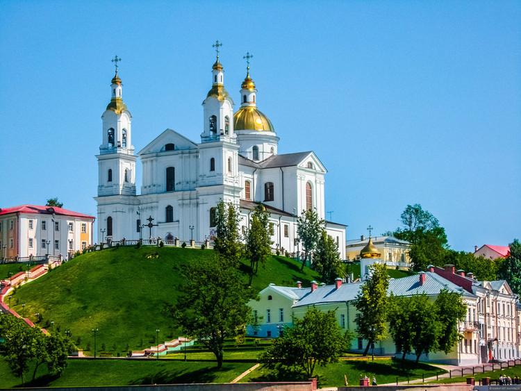 Витебск достопримечательности зимой