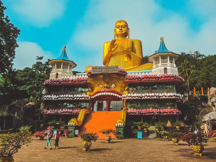 Достопримечательности острова Шри-Ланка на карте курортов